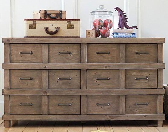 20 Inch Wide Dresser Version 2 Rustic Dresser Extra
