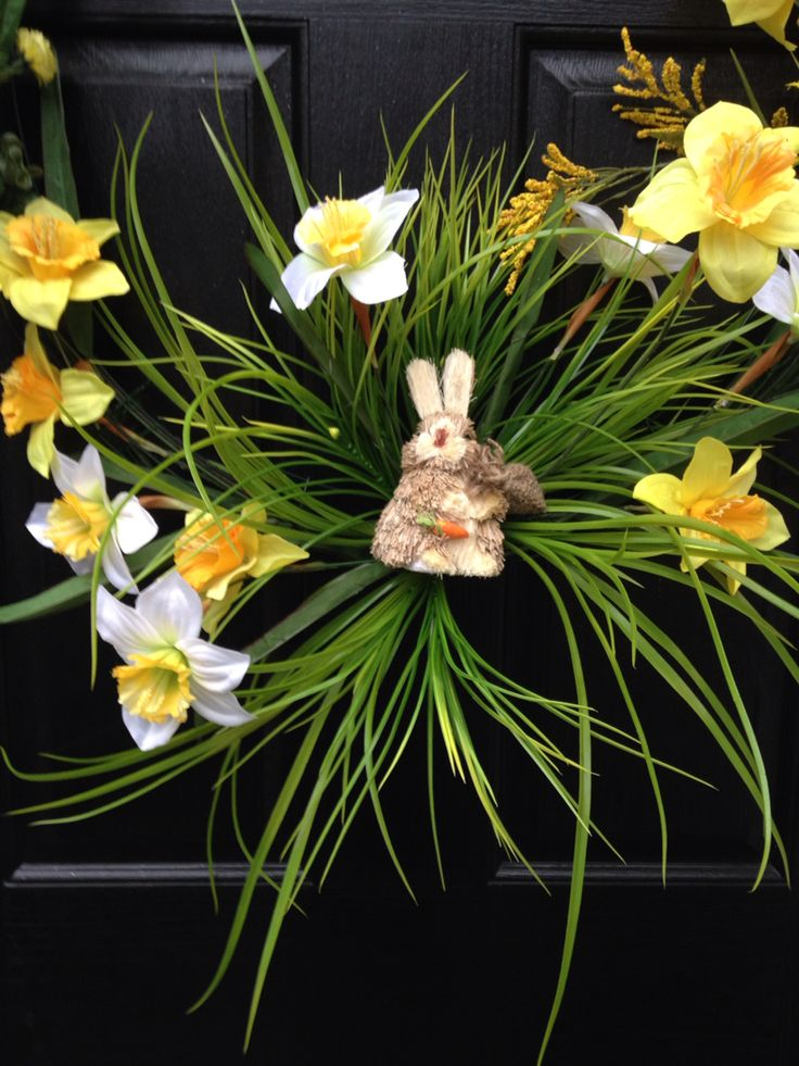 Part of spring wreath