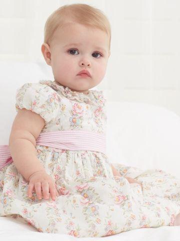 Floral Seersucker Dress - Dresses & Rompers   Layette Girl (Newborn–9M) - RalphLauren.com