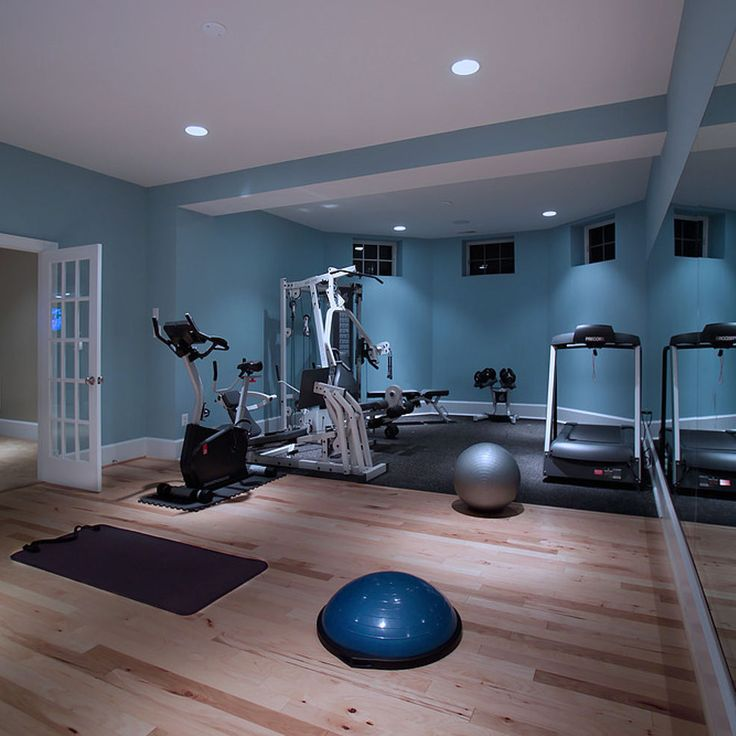 Home Gym Design Ideas Basement: Recently Completed Spa Bath In Large Basement Renovation