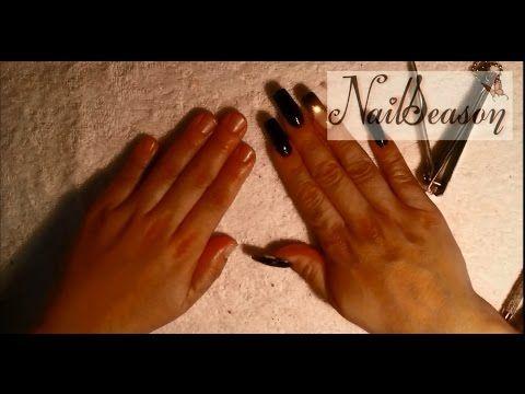 como quitar uñas acrilicas sin dolor / retirar uñas de acrilico - YouTube