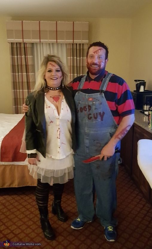 Chucky and Bride of Chucky - 2015 Halloween Costume Contest via @costume_works