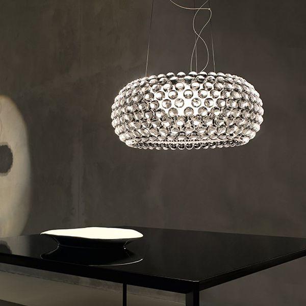 Caboche pendant lamp, medium, by Foscarini.