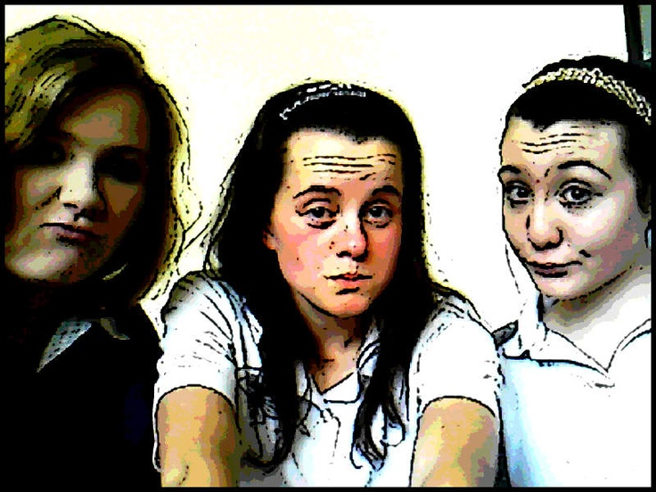 What we do when bored at school hehe!