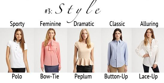 Your Fashion Personality Style 06 Looks Conseils Pinterest Style