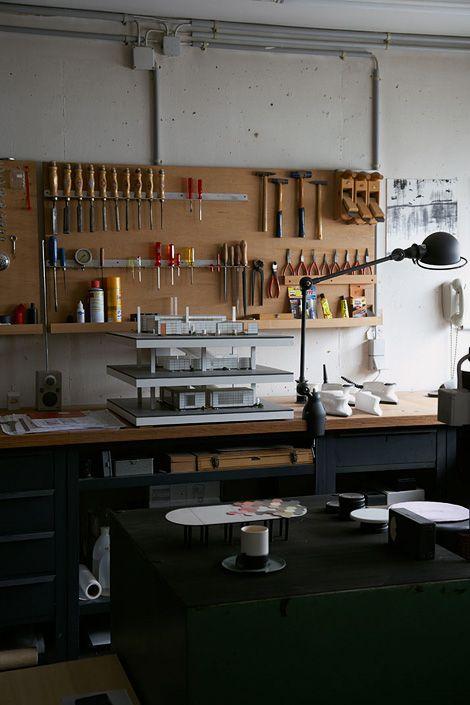 Dieter Rams workspaces