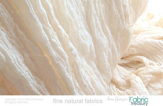 Wholesale Fabric. Soft Cotton Crepe Fabric. by FabricTreasury
