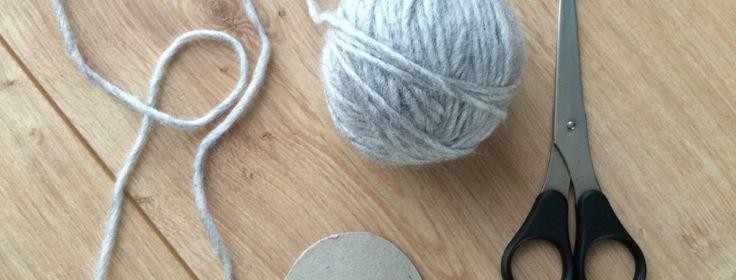 Pompon selber machen – Alles mit Herz