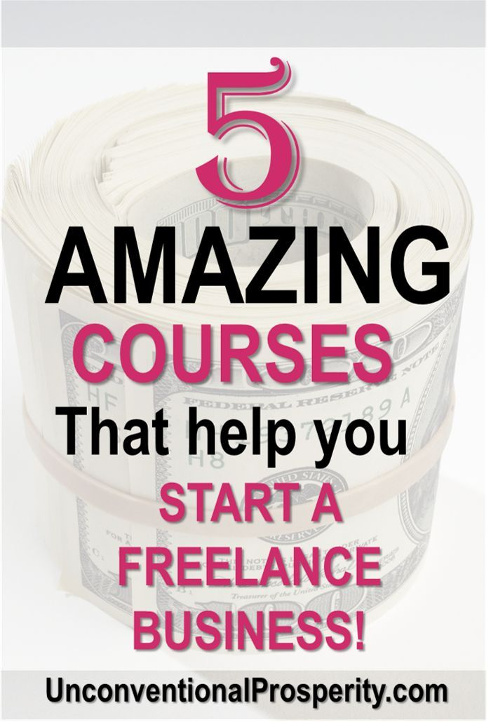 5 Amazing Freelance Business Courses for WAHM Moms