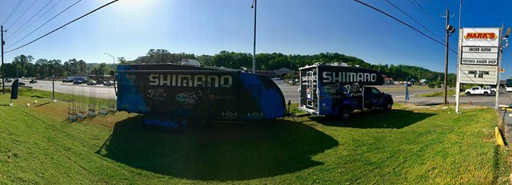 The Shimano Experience Team is at Mark's Outdoors in Vestavia Hills, Alabama today until 2PM. Come meet the team, cast new rods, see the latest reels, and shop for your next go-to setup!   Mark's Outdoors 1400 Montgomery Hwy, Vestavia Hills, AL 35216 #fishing #flyfishing #fishinglife #fishingtrip #fishingboat #troutfishing #sportfishing #fishingislife #fishingpicoftheday #fishingdaily #riverfishing #freshwaterfishing #offshorefishing #deepseafishing #fishingaddict #lurefishing #lovefishing…