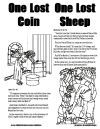 Parables: The Lost Coin & the Lost Sheep take home worksheet