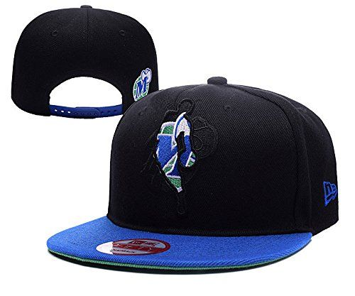 Dallas Mavericks NBA All Striped Out Team Logo Black Adjustable Hat One Size * Check this awesome product by going to the link at the image.