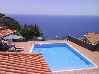 Vivenda com piscina privada e aquecida, linda vista para o mar e montanha Aluguer de férias em Calheta da @HomeAway Portugal