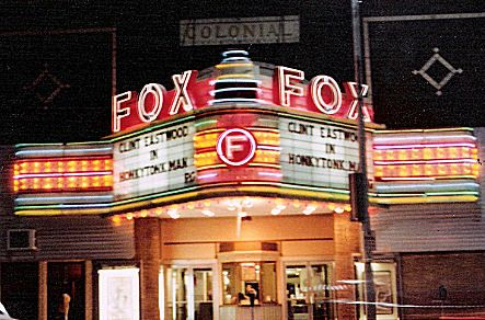 fox theater Pittsburg, KS Is being restored.  I worked there for 6 years.  Used to sit in that box office & watch the traffic go by.