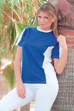PAGAMENTO ANCHE ALLA CONSEGNA T - Shirt maglia Uomo Donna girocollo manica corta da lavoro Abbigliamento Abiti