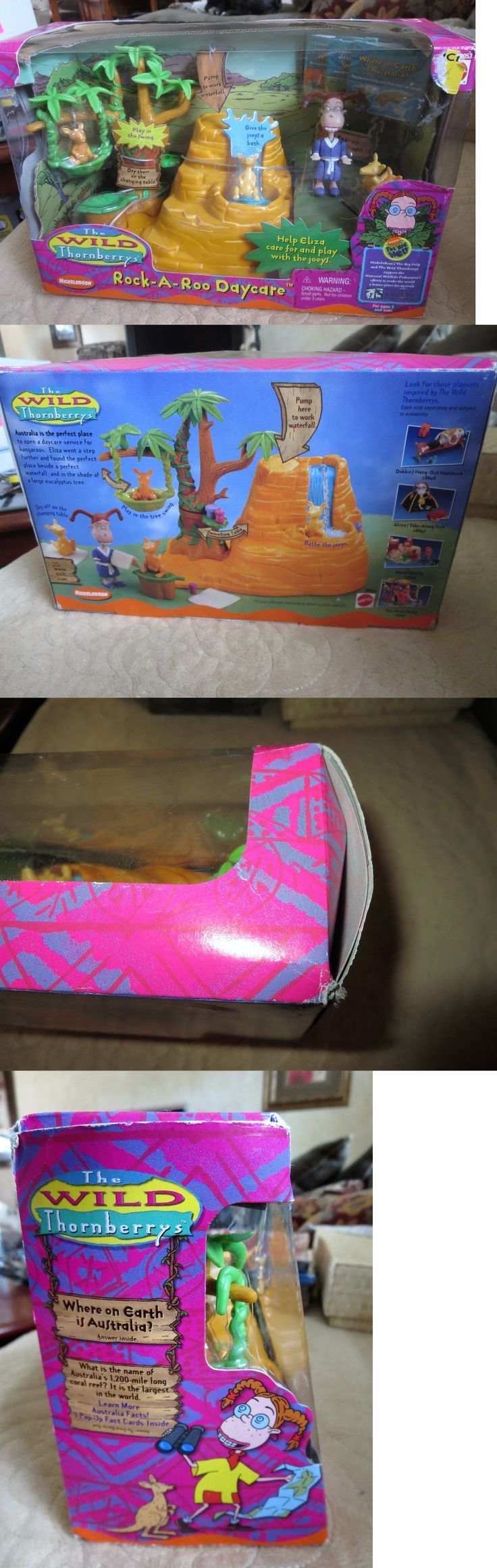 Fast Food 767: 2000 Wild Thornberrys Rock-A-Roo Daycare Playset Super Rare Toy Mattel New -> BUY IT NOW ONLY: $49.5 on eBay!