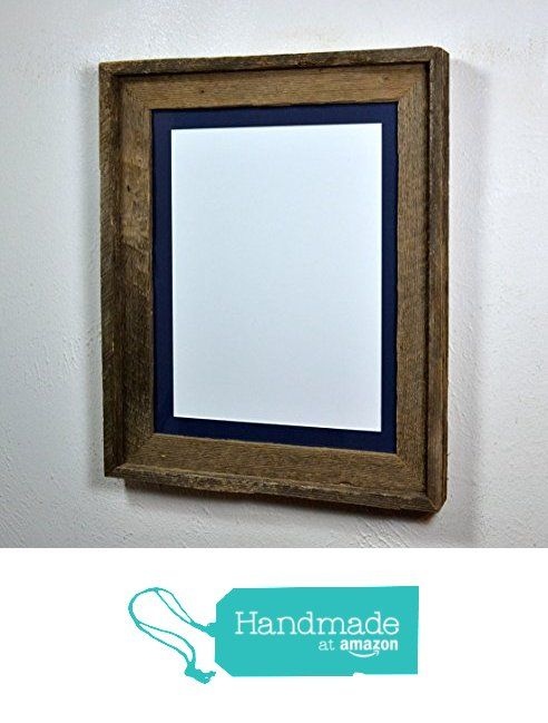 11x14 reclaimed wood photo frame with mat for 8x109x128x12 handmadeatamazon