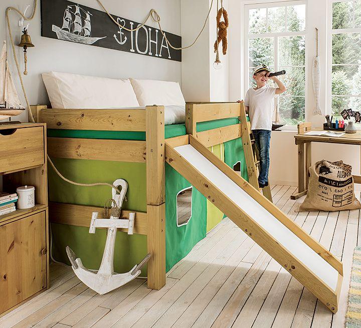 Mini Hochbett Pico Pino In 2020 Hochbett Bett Und Spielbett
