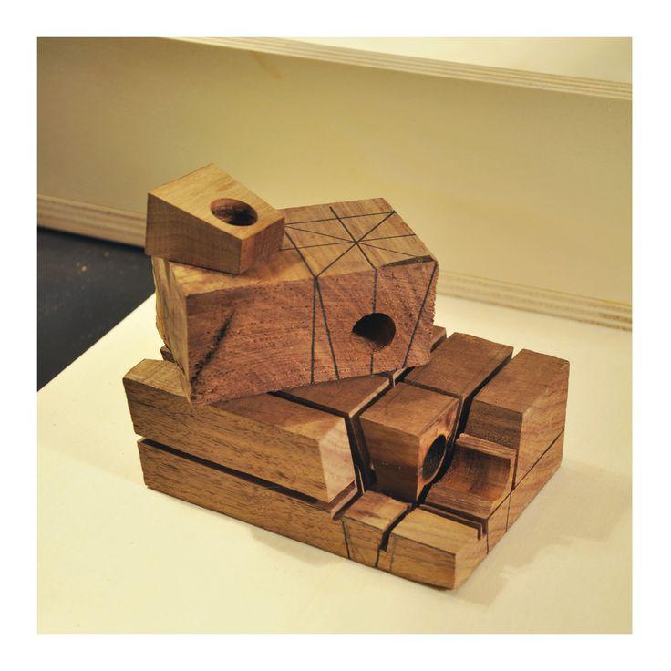 project - wood ring Nalj jewels