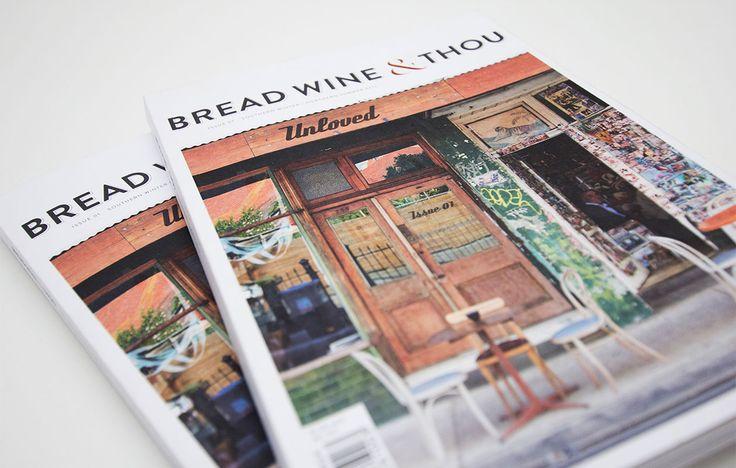 Logo, Branding & Print Design for Bread Wine & Thou by Juno Creative | #madebyjuno