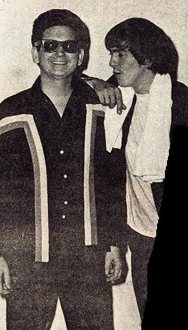 Roy Orbison and George Harrison