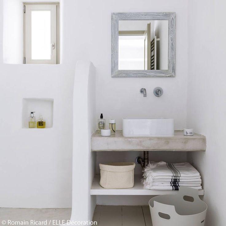 Salle de bains aux teintes pâles - La maison de vacances dont on rêve tous…