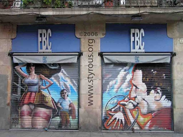 The Styrous® Viewfinder: El Graffiti del Raval
