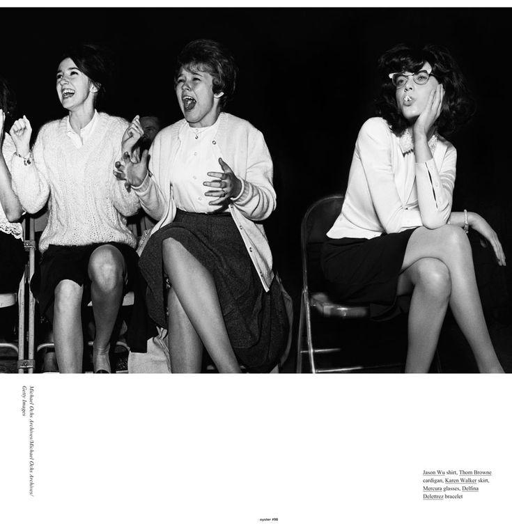 Tati Cotliar by Benny Horne for Oyster #98: Magazine, Babies, Its You, Daddy Cotliar, Oysters, Fashion Editorials, Oyster 98