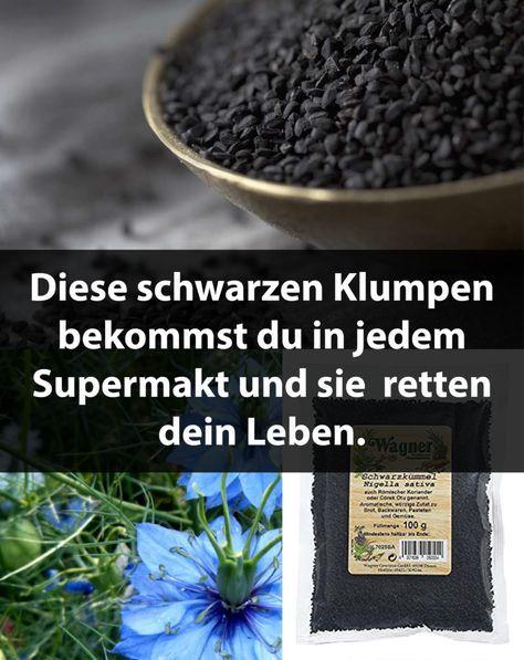 Diese schwarzen Klumpen bekommst du in jedem Supermakt und sie retten dein Leben. – ediewulf