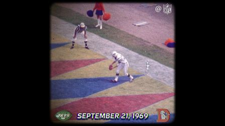Jets Rookie Steve O'Neal Launches 98-Yard Punt vs. Broncos | This Day In NFL History - NFL Videos