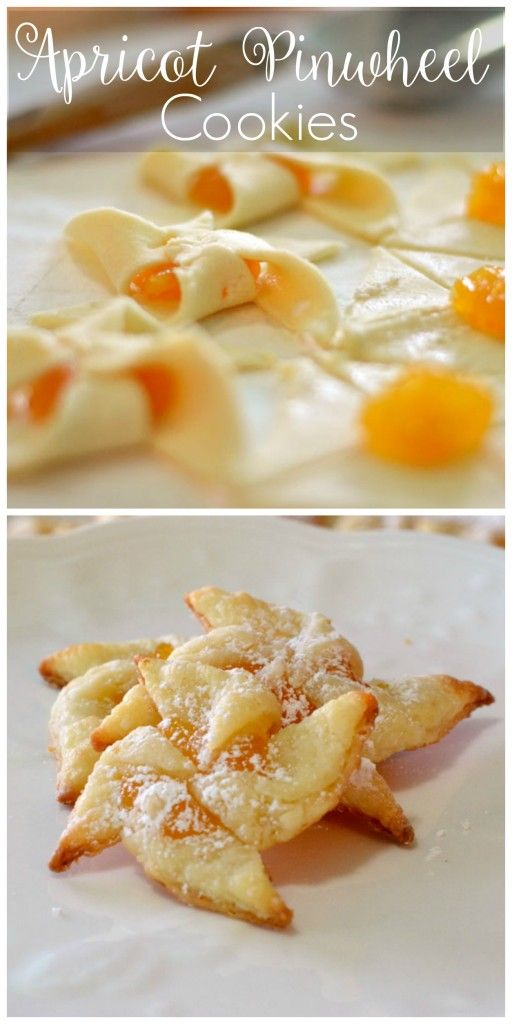 Apricot Pinwheel Cookies Recipes - easy step by step directions.                                                                                                                                                      More