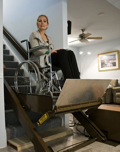 Lift For Disabled Person : Images about handicap disability solutions on