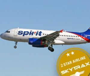 Spirit Airlines is downgraded to 2-Star Airline status in latest Ranking Review