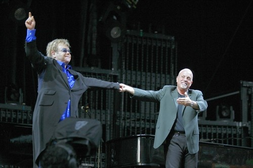 Billy Joel and Elton John