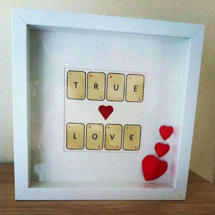 Frame made by crafty k's true love