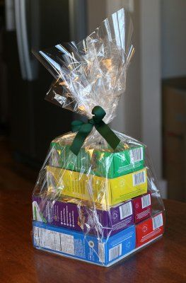 Girl Scout Cookies Gift Package...pair with coffee mug or cookie cutter?