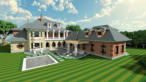 Plantation Mansion – Minecraft Building Inc