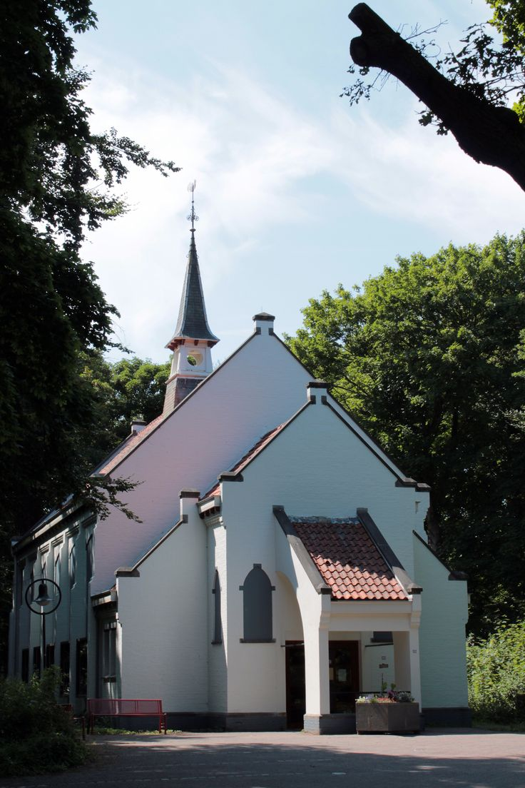 Architecture: church, Castricum (Holland)