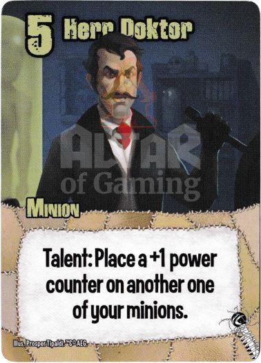 Herr Doktor - Mad Scientists - Smash Up Card | Altar of Gaming