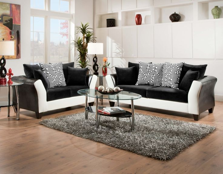 Come Check Out Our New Blackwhite Avanti Living Room Set
