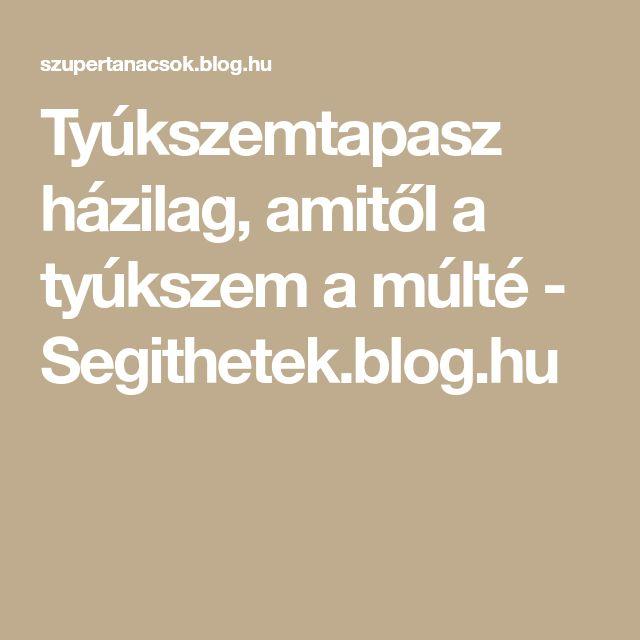 Tyúkszemtapasz házilag, amitől a tyúkszem a múlté - Segithetek.blog.hu