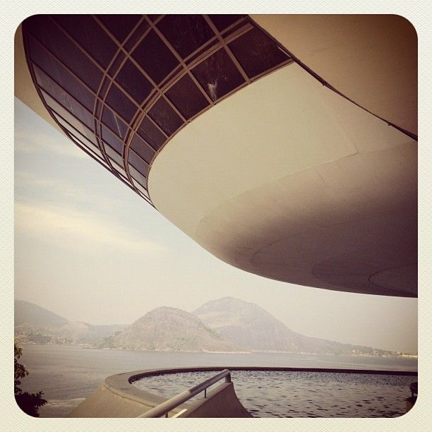 MAC Niteroi @ Museu de Arte Contemporanea, Rio de Janeiro, Brasil