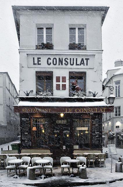 wintertime in Paris