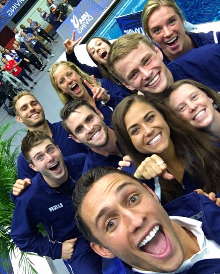 2016 US Olympic Diving Team