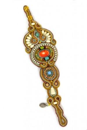Dori Csengeri's braceletSoutache Jewelry, Colours Jewels, Soutache Bracelets, Doris Csengeri, Soutache Jewels, Csengeri Bracelets, Boho Jewellery, Sutasz Soutache, Bewitched Bracelets