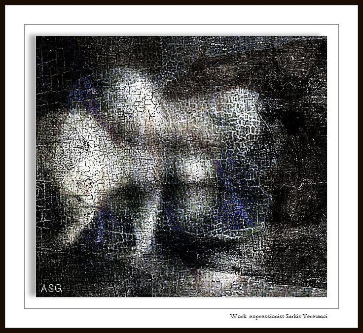 """""""Puppy pit bull"""" - Изобразительное искусство - Масло, акрил"""