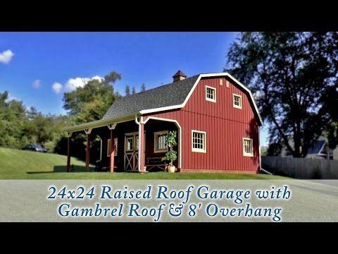 Best 25 prefab garages ideas on pinterest prefab garage for Two story metal garage