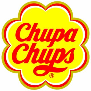 """""""In 1969, Dali was approached to design a new logo, and the result became as instantly recognisable as his melting clocks. Dali incorporated the Chupa Chups name into a brightly coloured daisy shape. Always keenly aware of branding, Dali suggested that the logo be placed on top of the lolly instead of the side so that it could always be seen intact."""""""