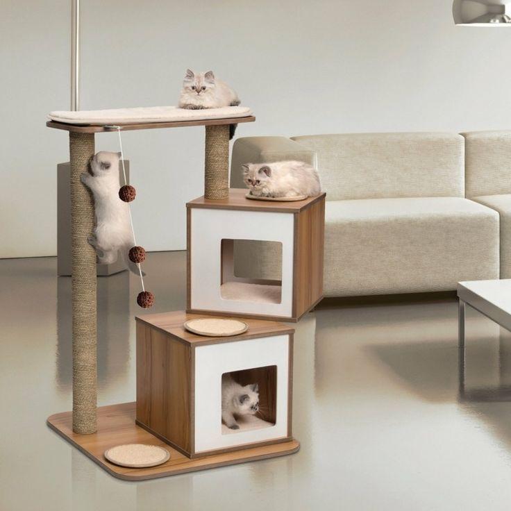Katzen Möbel Idee - Ein moderner Kratzbaum