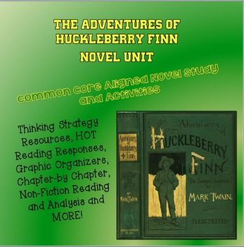 an analysis of huckleberry finn a novel by mark twain 167 quotes from the adventures of huckleberry finn: that book was made by mr mark twain, and he told the truth, mainly there was things which he stretched, but mainly he told the truth mark twain, the adventures of huckleberry finn.